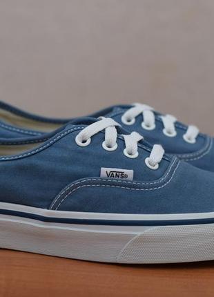 Синие джинсовые кеды, кроссовки vans, 38 размер. оригинал