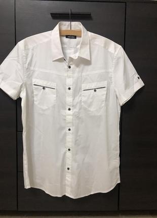 Белая рубашка antony morato, новая!