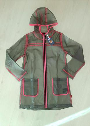Дождевик ветровка плащ пальто pepperts прозрачный
