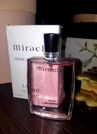 Тестер lancôme miracle женский аромат (100 мл)