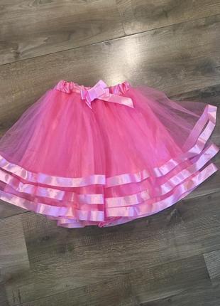 Фатиновая юбка нарядная
