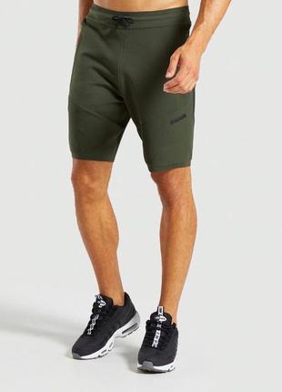 Мужские шорты gymshark true knit оригинал
