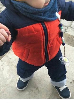 Стильный сборный комплект куртка и штаны