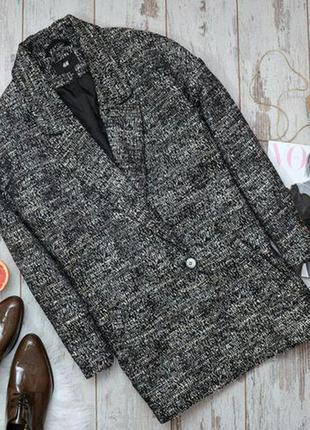 Супер пальто в стиле бойфренд h&m