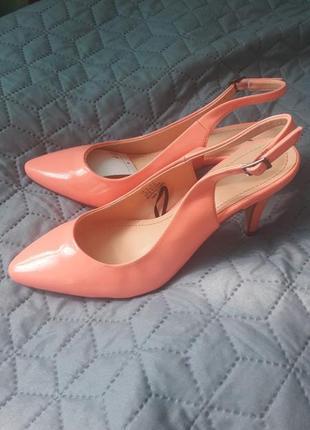Туфли с открытой пяткой h&m