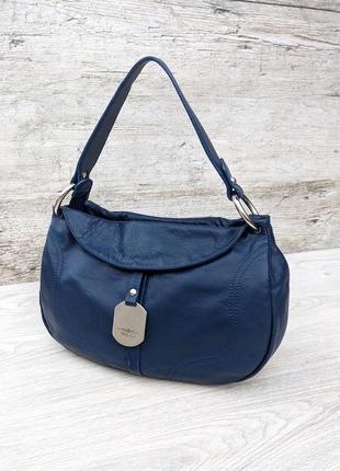 Tosca blu кожаная сумка хобо 100% оригинал/на плечо (massimo dutti liebeskind fossil furla