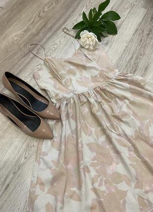 Корсетное платье сарафан