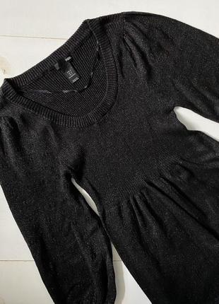 Шикарное мини платье h&m