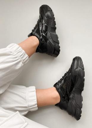 Новые трендовые кросовки stilli с сеткой на платформе