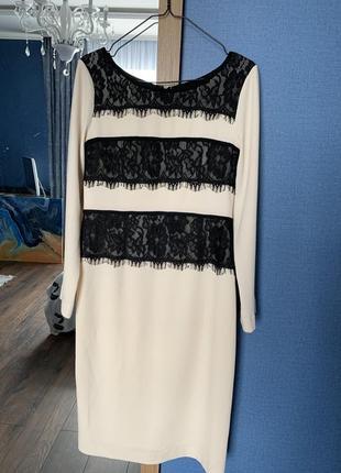 Шикарное вечерние платье