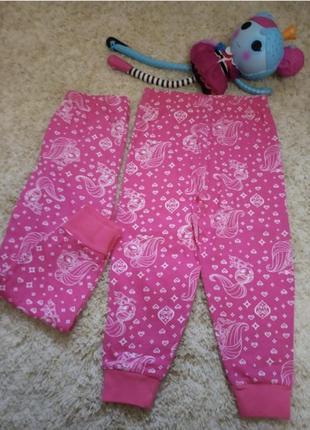 Штаны primark на 2/3 и 3/4 года домашние пижамные пижама