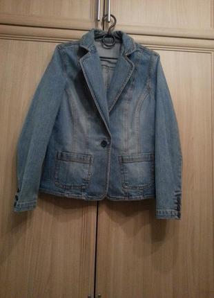 Джинсовый пиджак dorothy perkins