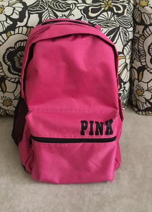 Розовый рюкзак victoria's secret
