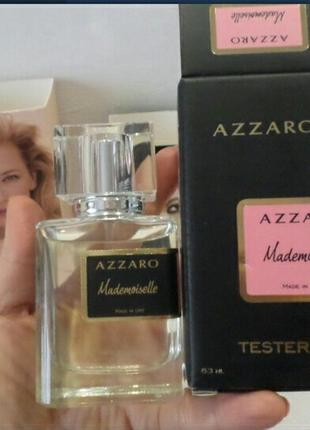 Мини тестер экстракт премиум 63 мл эмираты azzaro mademoiselle