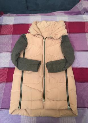 Курта зимняя zara, (можно для беременных)