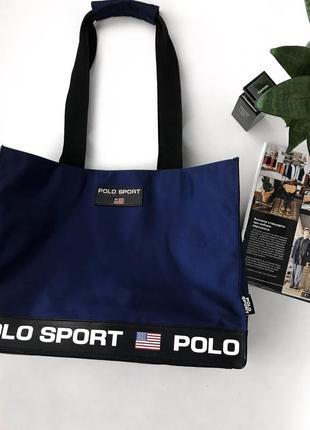 Сумка шоппер спортивная polo ralph lauren оригинал