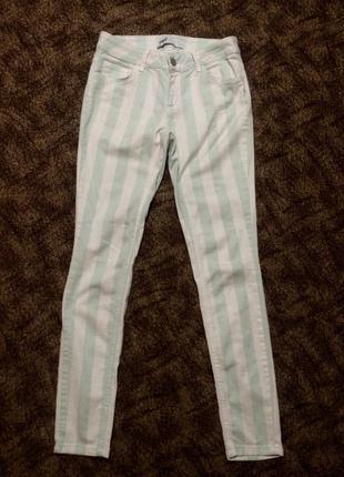 Джинси, штани, брюки, в полоску