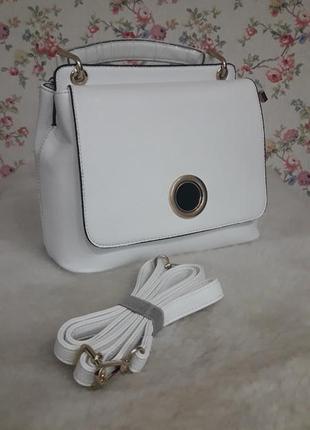 Сумка сумочка на плечо белая