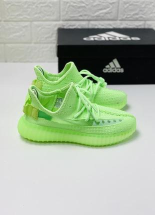 Кроссовки adidas yeezy boost 350 кросовки салатовые кросівки адідас