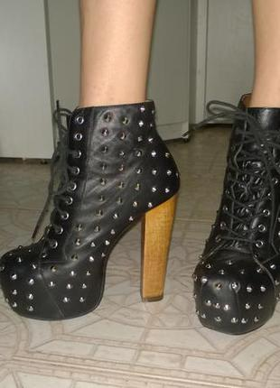 Ботильоны сапоги ботинки  gianmarco lorenzi