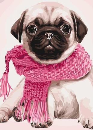 Картина по номерам идейка розовое настроение кно4107