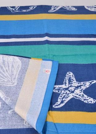 Пляжний махровий рушник хорошої якості
