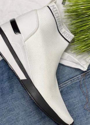 Тканевые кроссовки michael kors