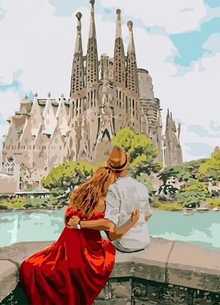 Картины по номерам идейка романтическая испания 40*50 кно4689