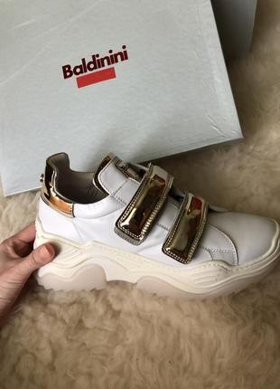 Стильные кроссовки кеды baldinini оригинал