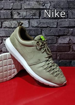 Кожаные кроссовки nike roche run оригинал