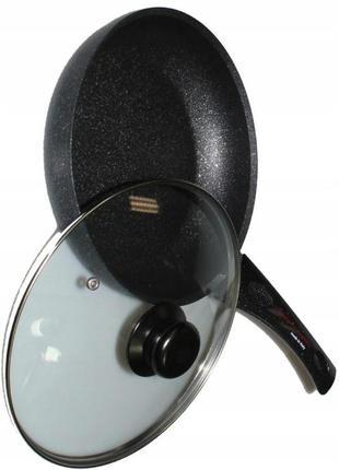 Алюминиевая сковорода с антипригарным покрытием 2405