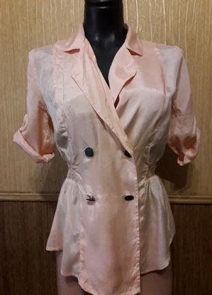 Нежная ,абрикосового цвета блузка фирмы asos
