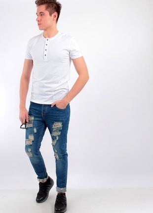 Шикарная хлопковая футболка levi's