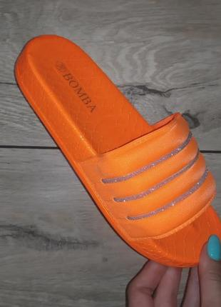 Шлепанцы платформа 🌿 силикон камни  низкая платформа сланцы