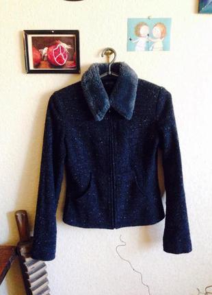 Красива фактурна куртка - пиджак на весну kookaï