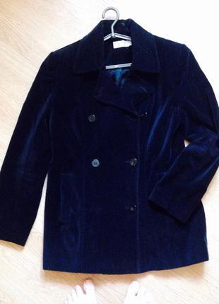 Гарнюще велюрове пальто оверсайз charlotte halton