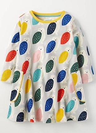 Платье совы