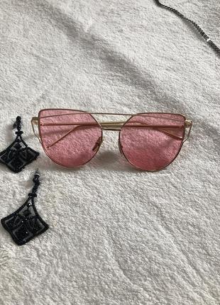 Крутие розовые очки