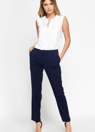 Шикарные брюки штаны primark деловые бизнес костюм slim fit