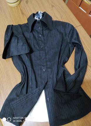 Крутезна офісна сорочка-блуза,max&co