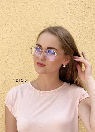 Имиджевые очки с покрытием антиблик к.12155