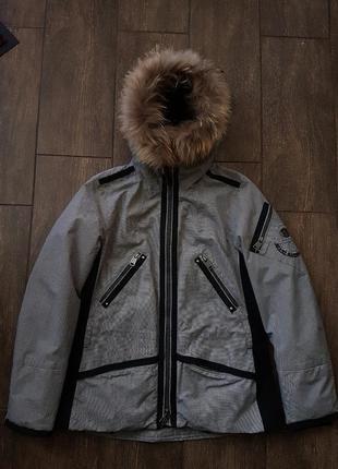 Шикарная утеплённая тёплая куртка парка napapijri