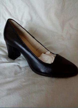 Туфли класика кожа