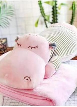 Плед  подушка іграшка 3в 1.