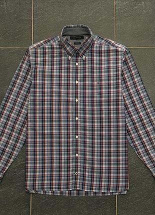 Шикарная рубашка в клетку tommy hilfiger
