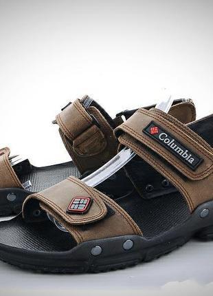 Мужские кожаные сандалии.