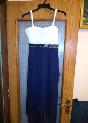 Шифоновое летнее платье