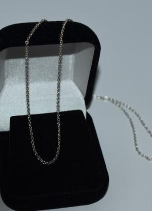 Изящная мини цепочка серебро 925 проба вес 2,6 грамм