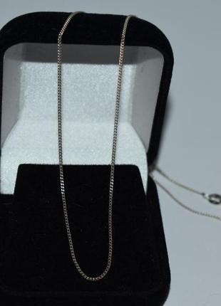 Изящная мини цепочка серебро 925 проба вес 1,5 грамма