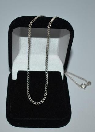 Изящная мини цепочка плетение серебро 925 проба вес 3,6 грамма